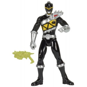"Power Rangers Dino Charge - 4"" Black Ranger Action Figure"