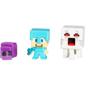 Mattel Minecraft Collectible Figures Set L (3-Pack), Series 3