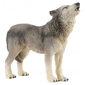 "Papo ""Howling Wolf"" Figure"