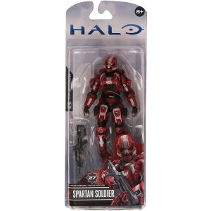 Unknown McFarlane Toys, Halo 4, Spartan Soldier [Red] Acton Figure, 5 Inches