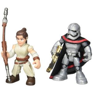 Playskool Heroes Galactic Heroes Star Wars Resistance Rey (Jakku) and Captain Phasma