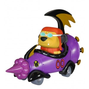 FunKo POP Rides: Wacky Racers - Hanna Barbera Mean Machine with Goggled Muttley POP