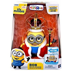 Minions - Bob British Invasion Deluxe Action Figure (20195) by Thinkway Toys