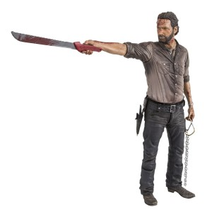 "McFarlane Toys The Walking Dead TV 10"" Rick Grimes Vigilante Edition Deluxe Figure"