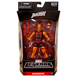 Marvel Legends Infinite Series Daredevil 6 Inch Yellow Exclusive Action Figure