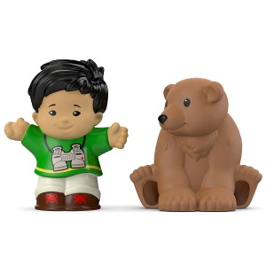 Fisher-Price Little People Koby and Bear Toy Figure