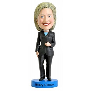 Royal Bobbles Hillary Clinton Bobblehead - 2016 Edition