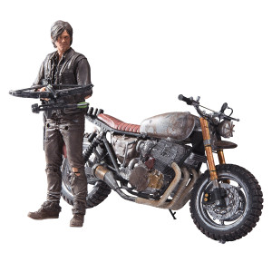 McFarlane Toys The Walking Dead TV Daryl Dixon with Custom Bike Deluxe Box Set