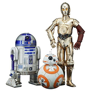 Kotobukiya Star Wars Episode 7 The Force Awakens C-3PO and R2-D2 with BB-8 ArtFX+ Statue