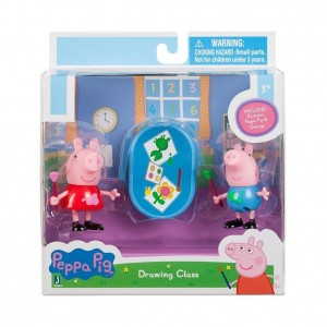 Peppa Pig 92626 and George Drawing Toy Figure