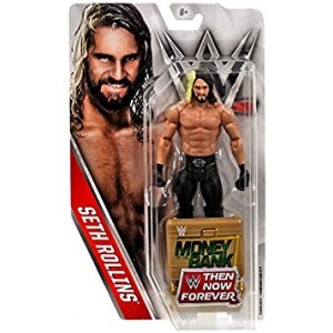 Mattel WWE, Basic Series, 2016 Then Now Forever, Seth Rollins Action Figure