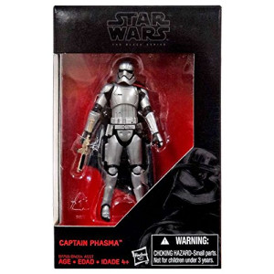 Star Wars:The Force Awakens, The Black Series, Captain Phasma Exclusive Action Figure, 3.75 Inches