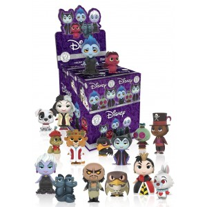 Funko Mystery Mini: Disney Villains and Buddies One Mystery Action Figure