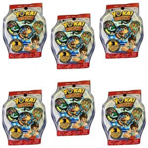 Yokai Yo-Kai Series 2 Medals - Six Blind Bags Bundle - 18 Random Medals