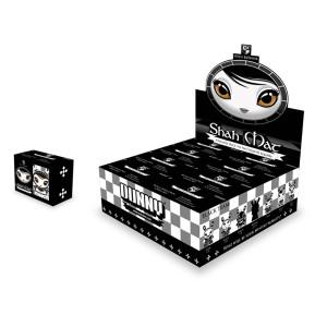 Kidrobot Dunny Chess Series Shah Mat Black Blind Box Vinyl Figures