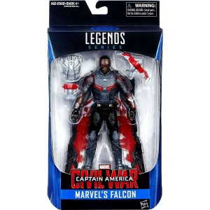 Marvel Legends, Captain America: Civil War, Falcon Exclusive Action Figure, 6 Inches