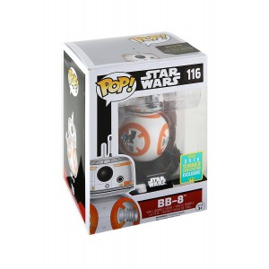 Pop Vinyl Funko Star Wars Pop! BB-8 (Thumbs Up) Vinyl Bobble-Head 2016 Summer Convention Exclusive