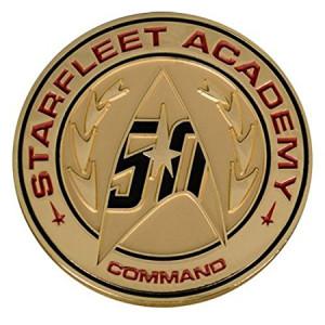 Quantum Mechanix Star Trek 50th Anniversary Lapel Pin