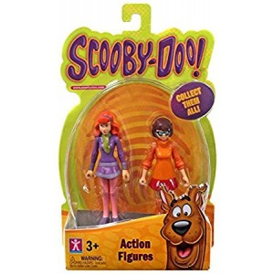 ScooDoo Scooby-Doo Daphne and Velma Action Figures