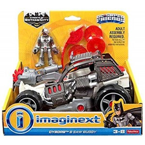Fisher-Price Imaginext Streets of Gotham City Cyborg and Saw Buggy Action Figure