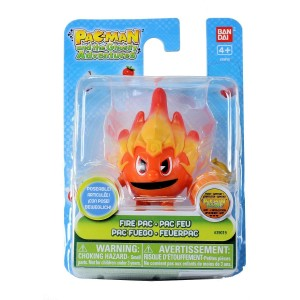Pac-Man and the Ghostly Adventures 3 inch 8cm Poseable Figure - Fire Pac