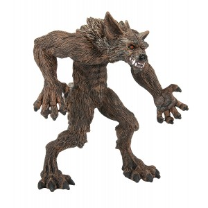 Safari Ltd Fantasy Collection – Werewolf – Realistic Hand Painted Toy Figurine Model - Quality Construction from Safe and BPA Free Materials - For Ages 3 and Up