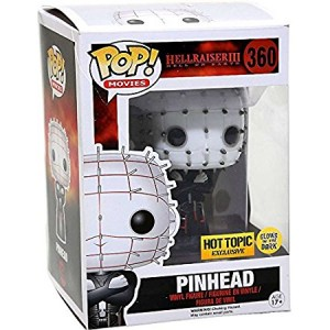 Pinhead #360 (Glow In The Dark GITD) Hellraiser III Pop! Movies Vinyl Figure (Hot Topic Limited Edition Exclusive) Funko