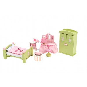 Le Toy Van Dollhouse Furniture and Accessories, Master Bedroom