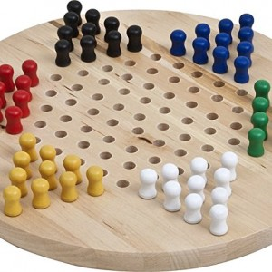 Bello Games New York, Inc Wooden Chinese Checkers Set