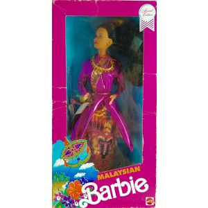 Malaysian Barbie 1990 Dolls of the World Collection
