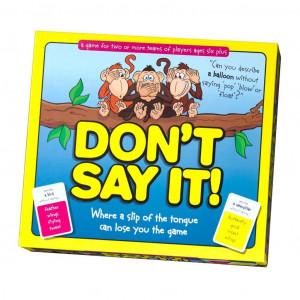 Pressman Toy Don't Say It Game