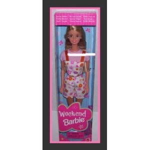 Mattel Special Edition Weekend Blonde Barbie Doll From 1998