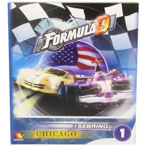 Asmodee Formula D Expansion 1: Sebring and Chicago