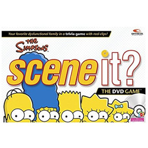 Mattel The Simpsons, Scene It? The DVD Game