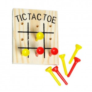 Shindigz Wooden Tic Tac Toe Games