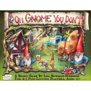 Gut Bustin' Games Oh Gnome You Don't Board Game