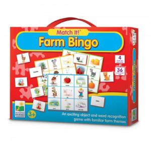 The Learning Journey Match It! Bingo, Farm