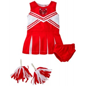 "Unique Doll Clothing Doll Red and White Cheerleader Outfit for 18"" Including The American Girl Line Doll"