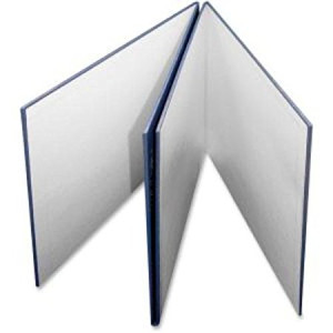 Ashley Productions Folding Blank Game Board with Blue Pebble Cover