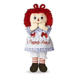 """Aurora Raggedy Ann Classic Doll 12"""""""