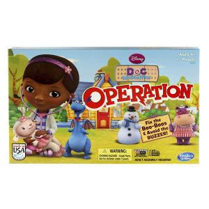 Hasbro Disney Doc McStuffins Operation Game