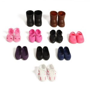 Beverly Hills Doll Collection TM Beverly Hills Doll Collection 10 Pairs Of Shoes Fits 18'' Doll