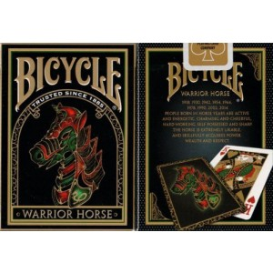 US Playing Card Co 2 Decks Warrior Horse Bicycle Playing Cards