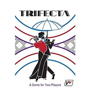 Victory Point Games Trifecta - Fast-paced Two-player Card Game