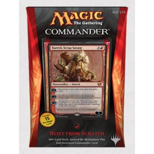 Wizards of the Coast Magic The Gathering Commander 2014 Built from Scratch Deck