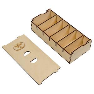 The Broken Token Broken Token Short Bits Box for Sleeved Card Game Organizer
