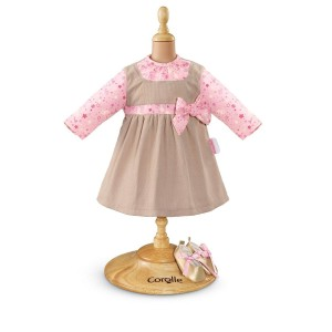 """Corolle Christmas Tales Dress Baby Doll, 14"""""""