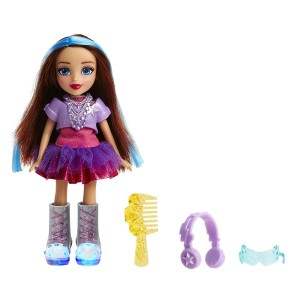 "Skechers Twinkle Toes 6.5"" Light up Doll - Music ""Rock N Beauty"""