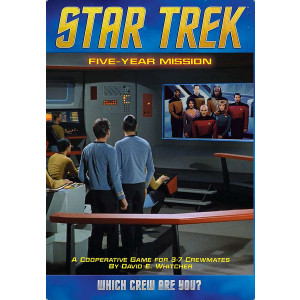 Mayfair Games Star Trek: Five Year Mission Board Game