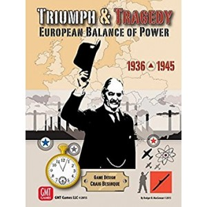 GMT Games Triumph and Tragedy: European Balance of Power